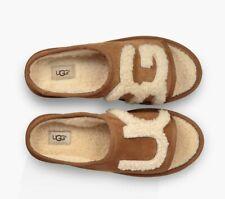 Womens UGG Chestnut Slide Logo Slippers Size 6.5  To Fit UK 6  Model 1019730 New