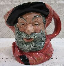 "Royal Doulton Large 6"" Toby Jug/Mug Character Sir John Falstaff Pitcher England"