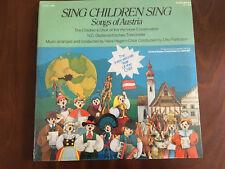 Sing Children: Songs Of Austria Caedmon TC 1578 sealed LP UNICEF