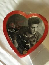 Russell Stover Elvis Presley Collector's Series Heart-Shaped Candy Box New