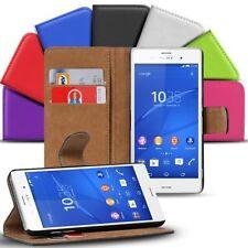 Sac rabattable pour Sony Xperia Z3 Compact Housse Étui De Portable Portefeuille