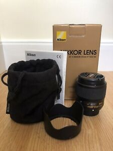 Nikon AF-S Nikkor 35mm f/1.8 G ED (for full frame)