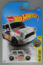 Hot Wheels 1:64 Scale 2016 HW Art Cars Series MORRIS MINI (WHITE)