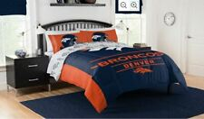 Denver Broncos Football Full Queen Size Bedding Comforter NFL Sports Blanket Set