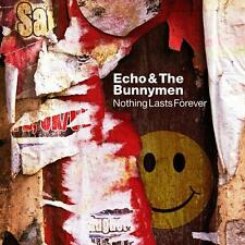 Echo & The Bunnymen(CD/DVD Album)Nothing Lasts Forever-Secret-SECDP142-New