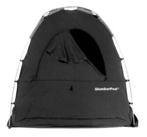 Slumberpod 2.0 - Black with Gray accent