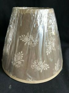 ASSORTED CLIP ON LAMP SHADES - VARIOUS SIZES, COLORS, THEMES ....YOU CHOOSE