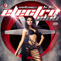 CD Welcome To The Electro Club von Various Artists  2CDs