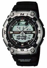 Montre Casio tide graph 200m water resist dual time AQW-100 -1 avef