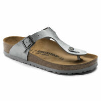 SUMMER SPECIAL Birkenstock Birko Flor GIZEH Animal Fascination Grey BNIB 1008663