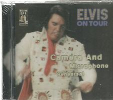 ELVIS PRESLEY CD - Elvis On Tour Camera and Microphone Rehearsal   Brand New