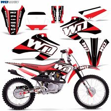 Decal Graphics for Honda XR80-XR100 Dirtbike MX Wrap Motocross Deco 01-03 WD RED