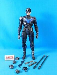 Nightwing No. 6 Figure Arkham Knight Play Arts Kai Square Enix Near Complete