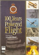 100 YEARS OF POWERED FLIGHT - Narrated by Martin Shaw. Bonus Prog. (DD DVD 2003)