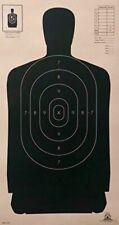 100 Paper Shooting Targets NRA B29 Silhouette Body Range Law Police Pistol Rifle