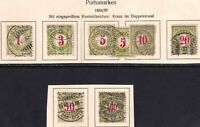 SWITZERLAND J21-J27 +1 COLLECTION LOT $$$$$$$ UNCHECKED FOR TYPES