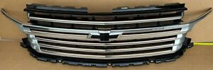 2021 Chevy Tahoe High Country Grille Bronze Accent with 360 Camera OEM GM