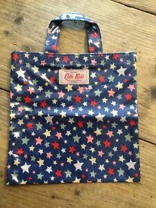 Cath Kidston /kids Small Mini Shopper Bag - Oil Cloth Fabric -