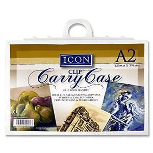 A2 Carry Case with Handle. Ideal for artwork, projects, presentations and more.