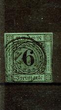 Briefmarken aus dem altdeutschen Baden (bis 1945) mit BPP-Signatur