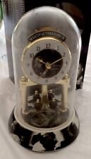 Beautiful Martin Luther King Jr. Anniversary Pendulum Glass Dome Porcelain Clock