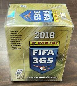 Sealed Fifa 365 2019 Album Sitcker Box Panini NEW -Kid Icarus-