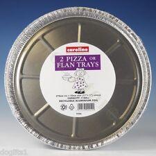Round Non Stick Pizza 11 12 13 14 Inch Tray Pan Tin Trays Pans Tins