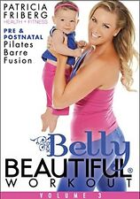 Pregnancy DVD - Belly Beautiful Workout Pre and Postnatal Pilates Barre Fusion
