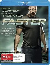 *Brand New & Sealed*  Faster (Blu-ray Action Movie, 2011) Starring The Rock