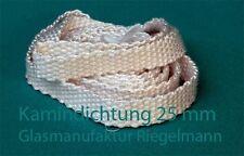 Kamindichtung, Ofendichtung Breite:25 mm  Dicke:4 - 5 mm, Länge:2 m