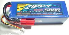 Zippy 5000mAh 3s 11.1v 30c 40c Hardcase 3 cell LiPo -Traxxas HPI Deans Turnigy
