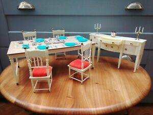 Sindy Dining Table and Chairs, and Sideboard , 1970's