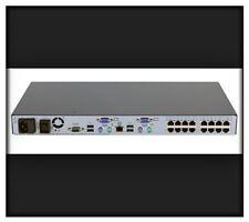 HP Server Console 0x2x16 Port Analog Switch PN: AF617A