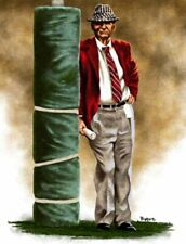 "Paul ""Bear"" Bryant Alabama Crimson Tide 11 X 14 Giclee by James Byrne Series 1"