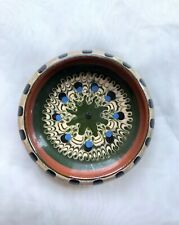 Vintage Bulgarian Pottery Troyan Small Plate