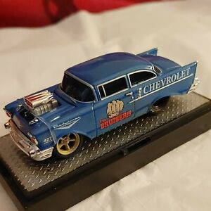 GORGEOUS 1957 CHEVY 150, STREET STOCK RALLY SPRT, M2 MACHINES 1:64 PICK THIS ONE