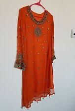 pakistani/indian shalwar kameez - wedding, mayoun, mehndi dress