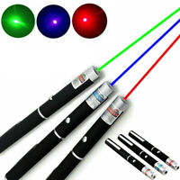 1mw Purple Green Red Beam Laser Lazer Dot Light Pointer Pen 650/532nm/405nm AAA