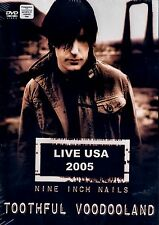BRAND NEW RARE DVD // NINE INCH NAILS // LIVE 2005 // TOOTHFUL VOODOOLAND /19 TR