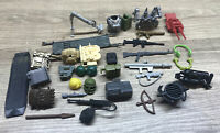 VTG Lot GI Joe Weapons Accessories Backpacks/Weapons & Etc