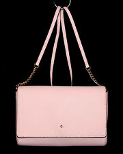 KATE SPADE Charlotte Street Alek Flap Crossbody WKRU3420 Blush Pink Leather