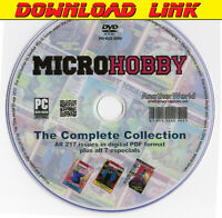 MICRO HOBBY Spanish Magazine Collection DOWNLOAD+Bonus (Sam Coupe/Spectrum Games