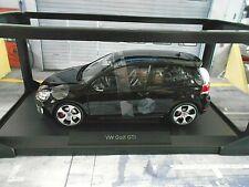 VW Volkswagen Golf GTI 2009 6 MK6 MKVI 3 Türer schwarz black 188502 Norev 1:18