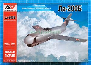 1/72 Lavochkin La-200B (A&A Models 7205)