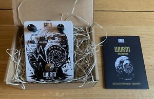 KMA Machines Wurm Distortion Pedal, Made in Germany, Unused