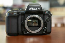 Nikon F90X / N90S 35mm SLR Black Film Camera - Body Only w/Manual
