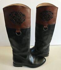 Frye Melissa Logo Boots size 6