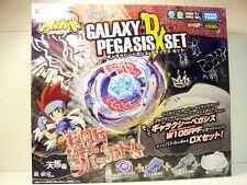 TAKARA TOMY BEYBLADE BB76 GALAXY PEGASUS PEGASIS DX SET+Launcher+Grip+Stadium