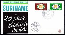 Suriname - 1970 20 years Highschool - Clean unaddressed FDC!