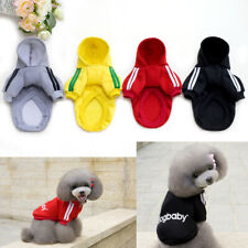 Casual Winter Pets Dog Clothes Warm Hoodie Coat Jacket Clothing For Dogs Pets